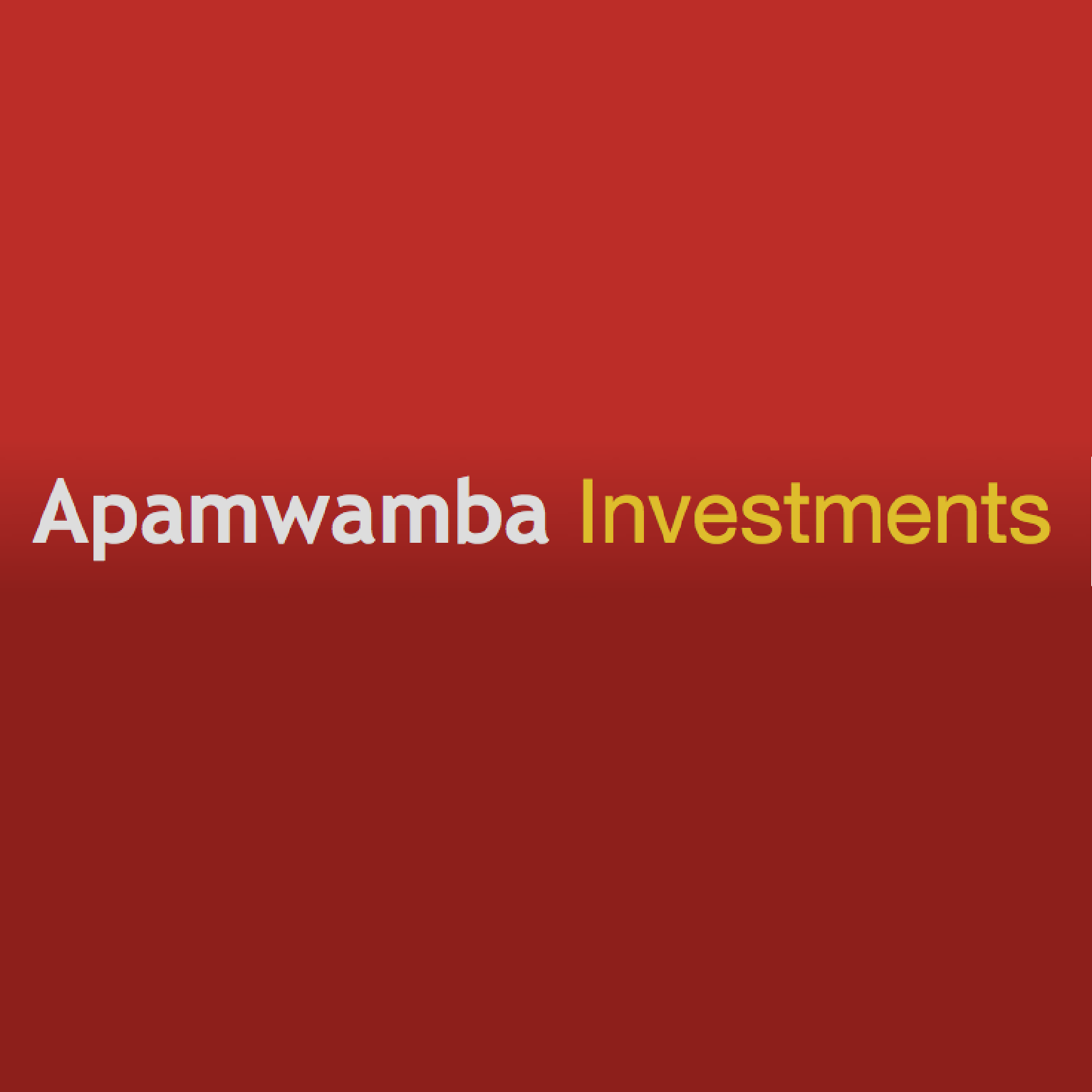 Apamwamba Investment
